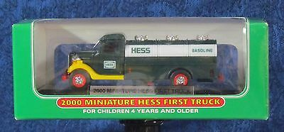 HESS - - - Miniature of the First Hess Truck issued in 2000