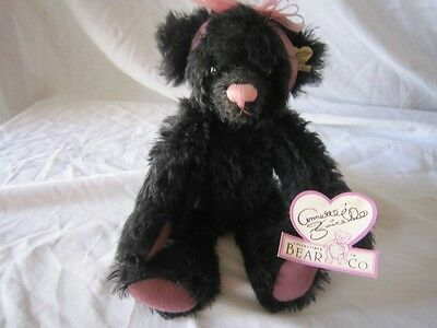 Annette Funicello  Collectible Mohair Bear Licorice Lucy