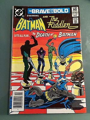 BRAVE AND THE BOLD #183, 9.0 VF/NM  Batman and Riddler