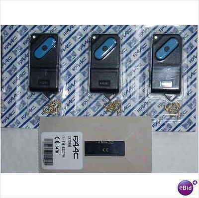 FAAC TM 433 DS, 1 button dipswitch remote / fob FREE UK POST, NEW, 7873891