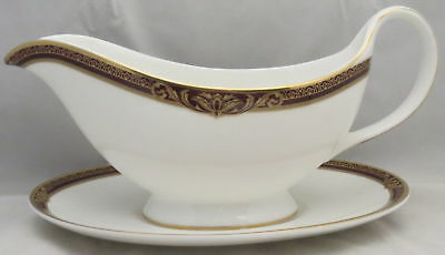 Royal Doulton Tennyson Gravy Boat & Underplate