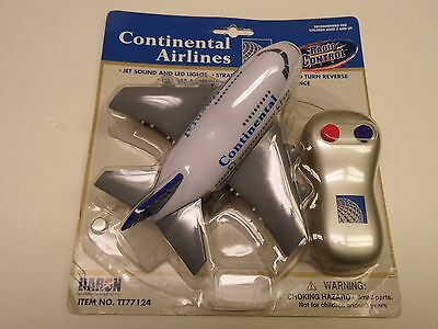 CONTINENTAL AIRLINES RC - Radio Control Plane by DARON