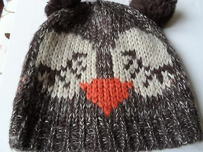 owl hat brand new great looking