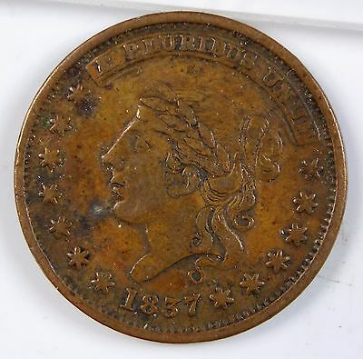 1837 Hard Times Token - Millions For Defence - Not One Cent For Tribute