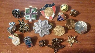 Junk Drawer Lapel Pins Military Vets Lottery UAW Religious Barbie and More
