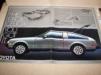 1978 Toyota Celica Gt &1988 Toyota Celica Trd Magazine Advertisement >Must See!