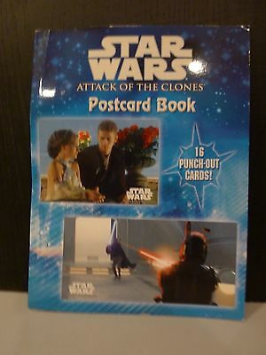 Star Wars Episode Ii Attack Of The Clones Postcard Book
