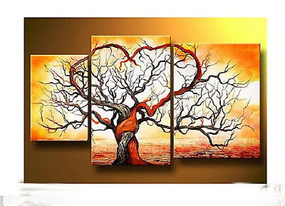 3pc Modern Abstract Huge Art Oil Painting Canvas-Tree (NO frame)29
