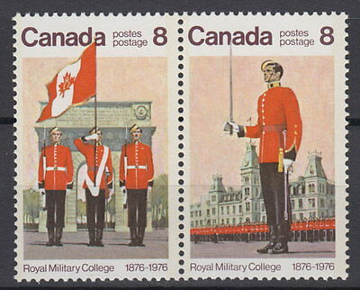 Canada #692-693 8¢ Royal Military College Mint Never Hinged