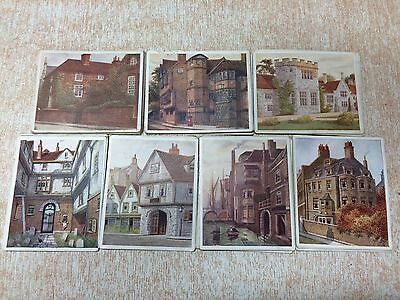 Historic Places From Dickens Classics : Set of 50 Cards : Hill & Archer,1926