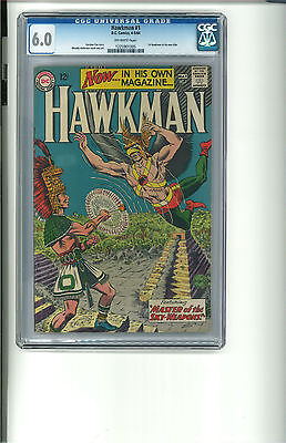 Hawkman #1 (Apr-May 1964, DC) CGC 6.0 OW Beautiful for the grade! Free Shipping
