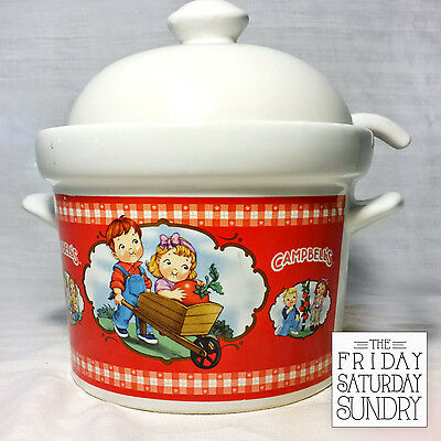 Campells Soup Small Tureen 2012 Edition