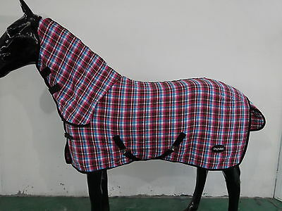 CHONMA   New Style Polycotton Monolayer Horse Rug Combo  4'3''-6'9''--A08