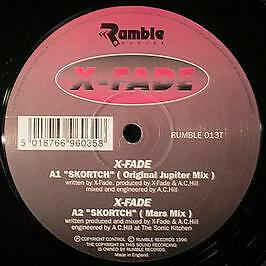 X-Fade - Skortch EP - Rumble Records - 1996 #740917