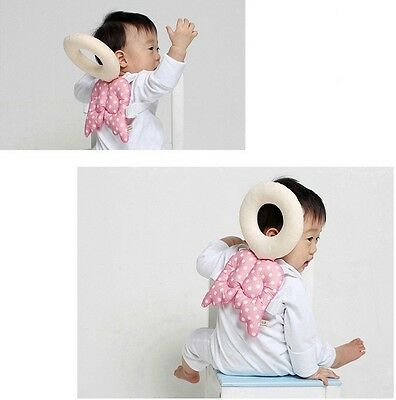 Baby Toddler Infant Walking Protective Gear Head Body Protect Pillow Mat Pink