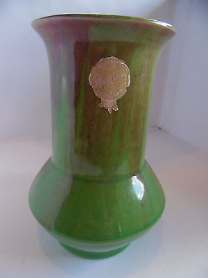 REMUED VASE WITH STRAIGHT THROAT & SML FLARED LIP early series shape 177.