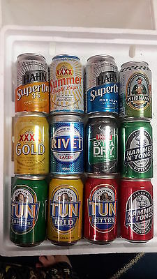 12 Different 330ml Beer Cans