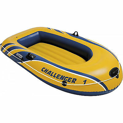 Intex Challenger 1 Boat Set - one man inflatable dinghy #68365