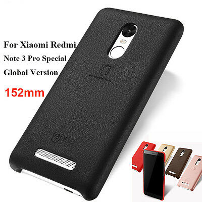 Soft PU Back Cover Case For Xiaomi Redmi Note 3 Pro Prime Global/Special Edition