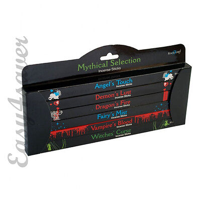 Stamford Mythical Selection Incense Gift Set Pack Of 6 (Each 8 Sticks) - 371495