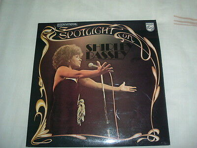 Spotlight On Shirley Bassey LP DOUBLE Album 33RPM 12 Inch