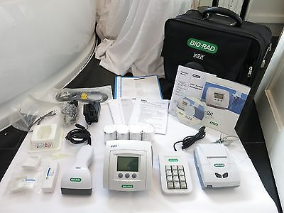 Bio-Rad In2It Portable Point Of Care Testing Blood Glucose Levels Analyser Uk