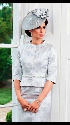 John Charles mother of the bride dress/jacket with hat   Size 12