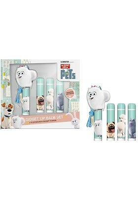 The Secret Life Of Pets Movie Gidget 4 X Lip Balm Set Xmas Gift For Girl`s