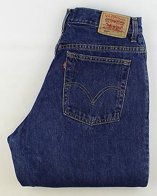 Levis 550 Relaxed  Blue Vintage   Jeans High Waisted W34 L32 (21911)