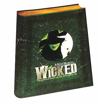 WICKED. Very Rare Promotional Brochure and Preview DVD 2006.