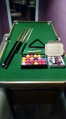 Pool/ snooker table bce