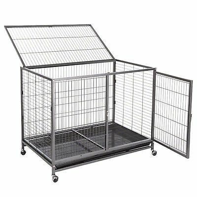 Tabby Indoor Dog Cage Dogs Run Crate Enclosure Puppy Pen Playpen Pet Fence House
