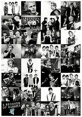 5 Seconds of Summer (5SOS) Poster Print