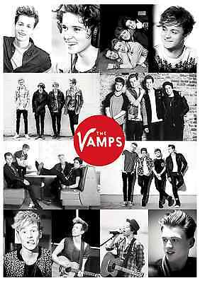 The Vamps Poster Print