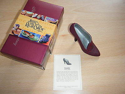 Just The Right Shoe (Pastiche) signed by Artist