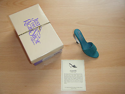 Just The Right Shoe (Geometrika) signed by Artist