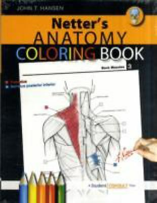 Anatomy Coloring Book by John T. Hansen