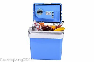 21L Portable Cool Box Electric Cooler 12V & 220-240V Adapters