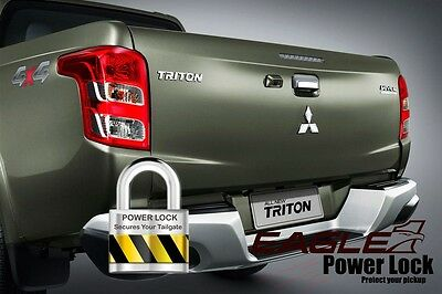 Fiat Fullback Central Locking Tailgate Kit - Eagle1 Power Lock