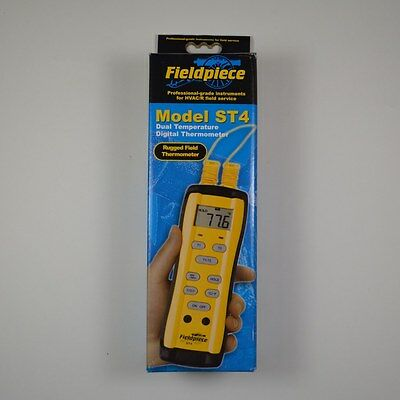 Fieldpiece ST4 Dual Input Digital Thermometer Superheat and Subcooling - NEW!