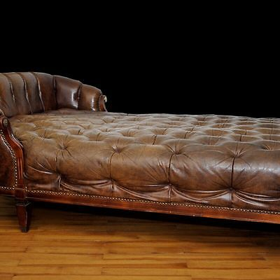 Chesterfield Sofa Chaise Lounge