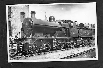 LMS loco No.769 at KENTISH TOWN in 1921  -Proper R/P-P/C glossy photo
