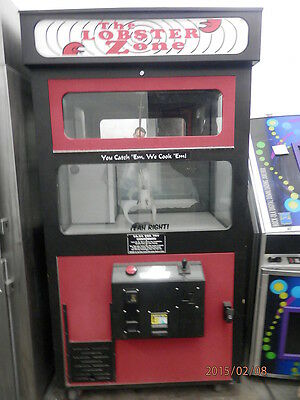 Lot Of 2 Lobster Zone Vending Crane Claw Machines