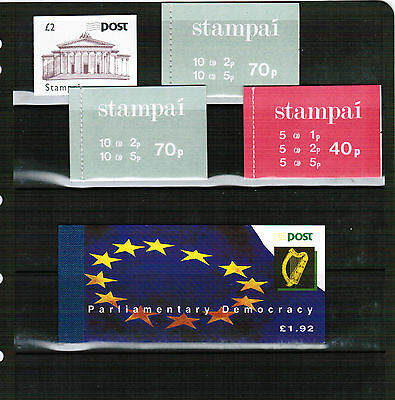 Eire (Ireland) stamp Booklets selection