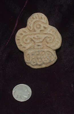Pre-Columbian ~ MAYAN ~ Pre-Colombian Stamp SEAL ~ NR