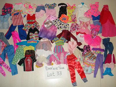 Used Clean  Barbie & Friends Size Doll Clothes  Lot 33  NO JUNK !!!