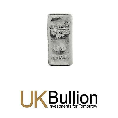 Umicore 250g (Gram) Silver Bar 999.00 FREE INSURED DELIVERY
