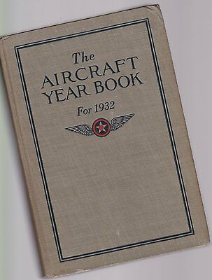 The Aircraft Yearbook for 1932 u.a. Zeppelin Do X