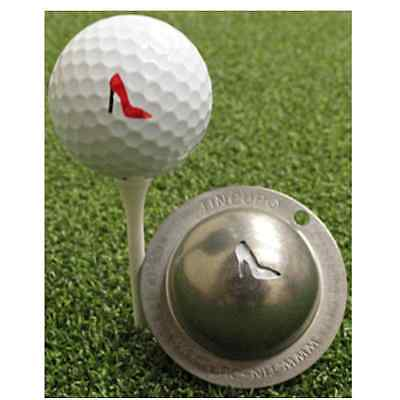 Tin Cup Golf Ball Marker - Gimme Choo - FREE UK Delivery