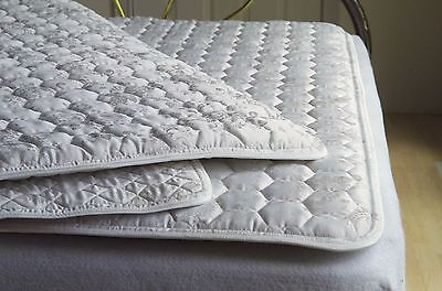 """ProMagnet Magnetic Therapy 1"""" Thick Mattress Pad - Twin (230 Magnets)"""